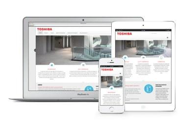 On line il nuovo sito www.toshibaclima.it