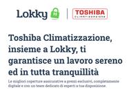 Lokky e Toshiba insieme per tutelare  professionisti ed installatori