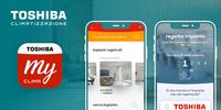Scarica la App My Toshiba Clima e scopri i vantaggi