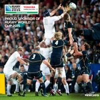 Toshiba in campo con i mondiali di Rugby