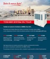 Toshiba On Tour : il viaggio per l'Italia del nuovo VRF SMMSe