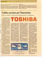 """Toshiba su IlSole24Ore """"Sistemi di Climatizzazione: Aziende Eccellenti"""""""